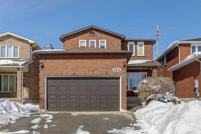 141 Cabinet Cres, Vaughan, ON L4L 6E7 (#N4372539) :: Jacky Man | Remax Ultimate Realty Inc.