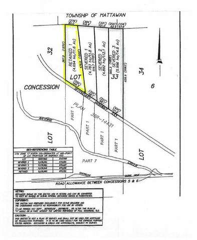 Rt 1 Hwy 533, Mattawan, ON P0H (#X5126314) :: Royal Lepage Connect