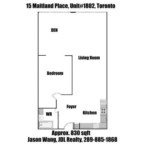 15 Maitland Pl #1802, Toronto, ON M4Y 2X3 (#C5084526) :: The Ramos Team