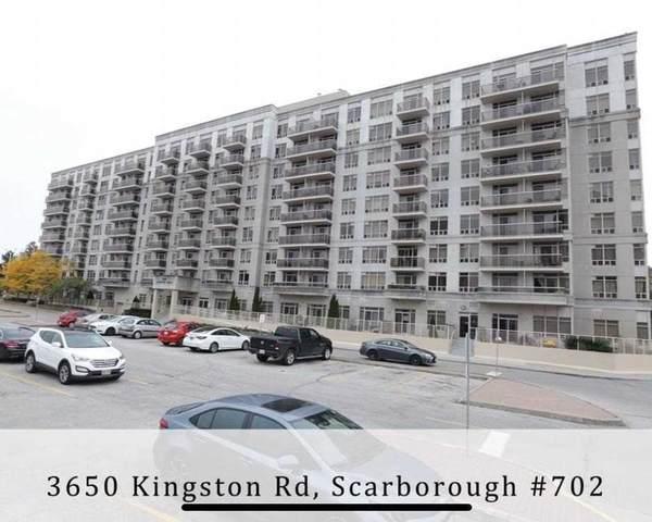 3650 Kingston Rd #702, Toronto, ON M1M 3X9 (#E5397629) :: Royal Lepage Connect