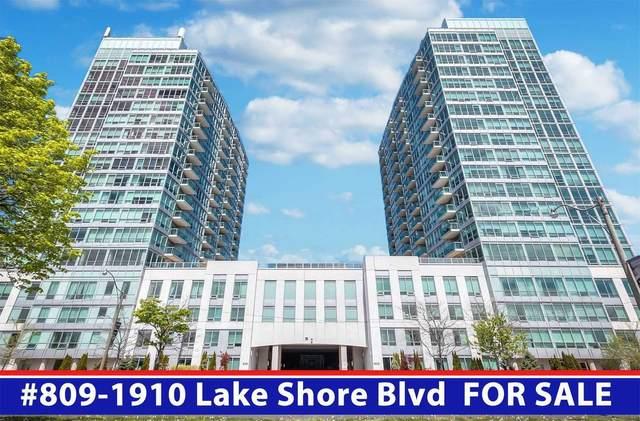 1910 W Lake Shore Blvd #809, Toronto, ON M6S 1A2 (#W5409204) :: Royal Lepage Connect