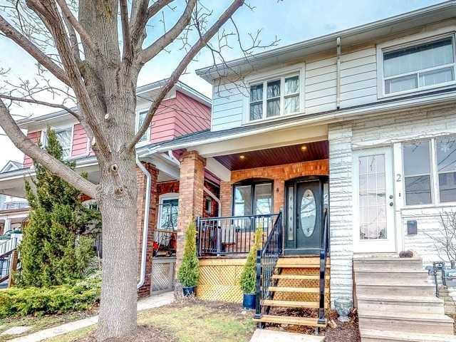 4 Amherst Ave, Toronto, ON M6E 1Z3 (#C4134523) :: RE/MAX Prime Properties