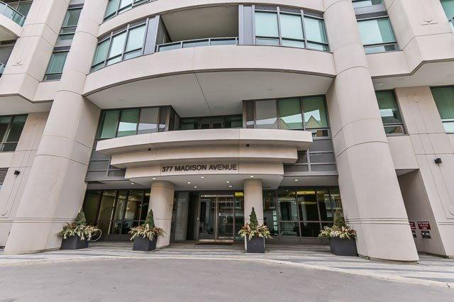 377 Madison Ave #515, Toronto, ON M4V 3E1 (#C4425482) :: Jacky Man | Remax Ultimate Realty Inc.