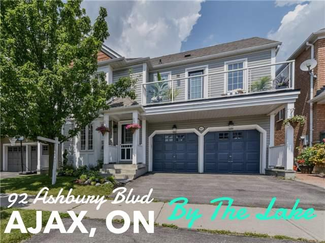92 Ashbury Blvd, Ajax, ON L1Z 1N1 (#E3936841) :: Beg Brothers Real Estate