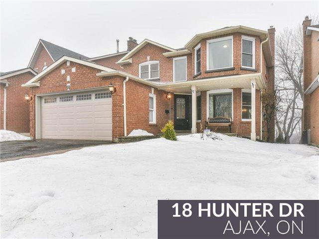 18 Hunter Dr, Ajax, ON L1T 3M9 (#E4046995) :: Beg Brothers Real Estate