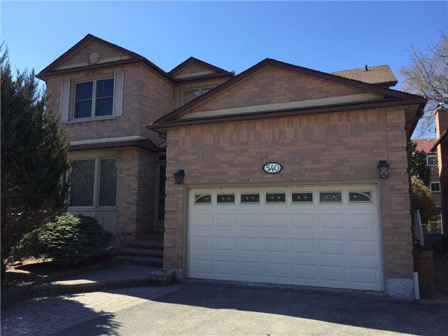 540 Rosebank Rd, Pickering, ON L1W 2N5 (#E4135498) :: Beg Brothers Real Estate