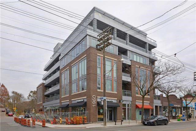 1960 E Queen St #406, Toronto, ON M4L 1H8 (#E4251187) :: RE/MAX Prime Properties