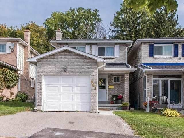 663 S Grandview Dr, Oshawa, ON L1H 7V9 (#E5125764) :: The Johnson Team