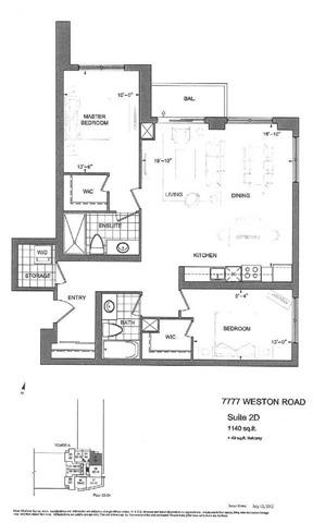 7777 Weston Rd Ph05, Vaughan, ON L4L 1A6 (#N3884040) :: Beg Brothers Real Estate