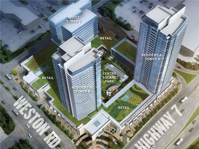 3700 Highway 7 W Rd #2809, Vaughan, ON L4L 0G8 (#N4025143) :: Beg Brothers Real Estate