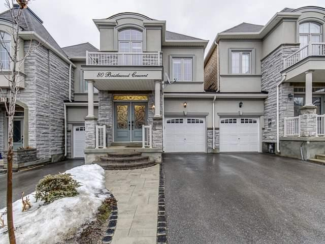 80 Bristlewood Cres, Vaughan, ON L4J 9K9 (#N4047542) :: Beg Brothers Real Estate