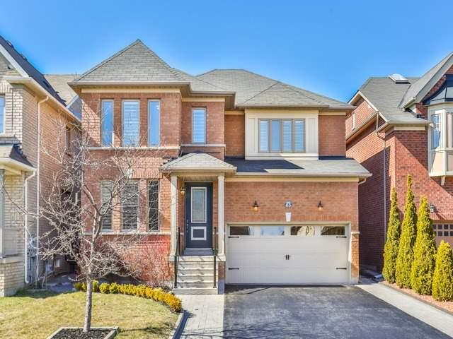 63 Sagecrest Cres, Vaughan, ON L4J 9G5 (#N4107533) :: Beg Brothers Real Estate