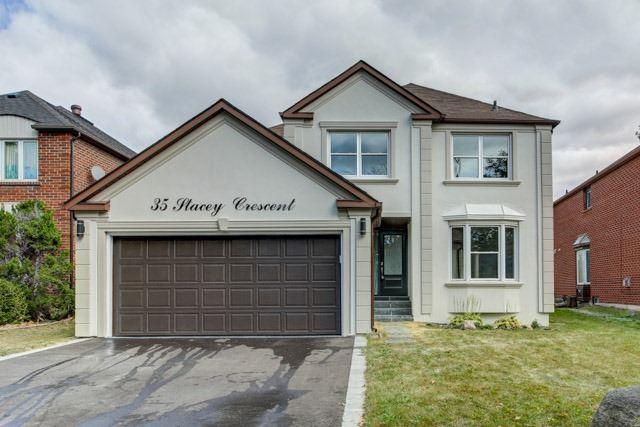 35 Stacey Cres, Markham, ON L3T 6Z5 (#N4116326) :: Beg Brothers Real Estate