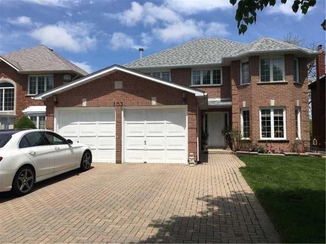 103 Castleridge Dr, Richmond Hill, ON L4B 1T1 (#N4141412) :: Beg Brothers Real Estate