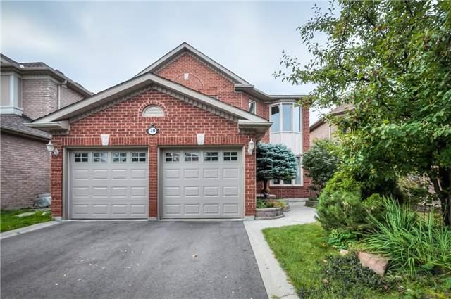 49 Painted Rock Ave, Richmond Hill, ON L4S 1P6 (#N4253021) :: RE/MAX Prime Properties
