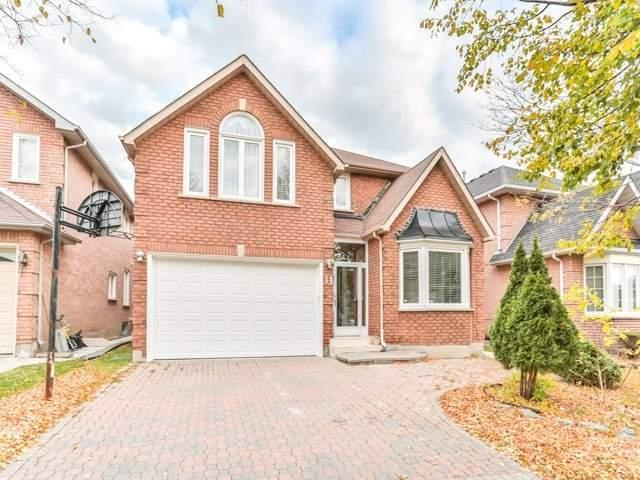 11 Hearthstone Cres, Richmond Hill, ON L4B 3E3 (#N4390635) :: Jacky Man | Remax Ultimate Realty Inc.