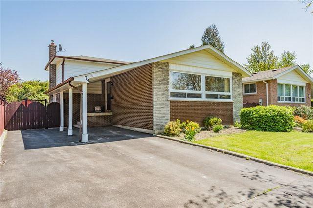 74 Ambleside Dr, Brampton, ON L6Y 1B9 (#W4135714) :: Beg Brothers Real Estate