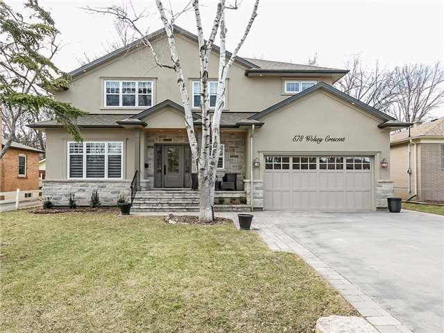 578 Wolsey Cres, Oakville, ON L6L 4W4 (#W4136573) :: Beg Brothers Real Estate