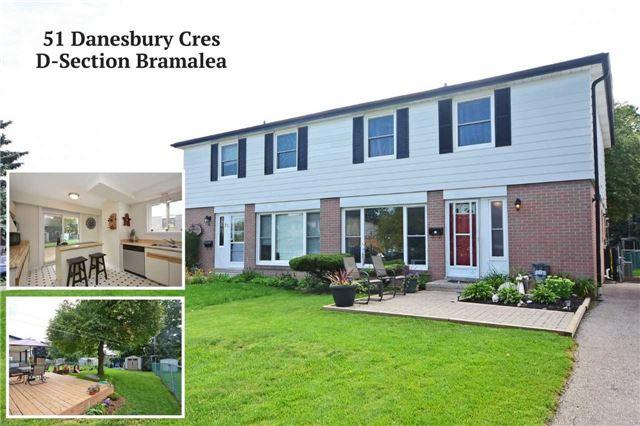 51 Danesbury Cres, Brampton, ON L6T 1T2 (#W4252846) :: RE/MAX Prime Properties