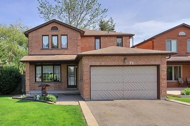 71 Silver Arrow Cres, Vaughan, ON L6A 1K3 (#N4139606) :: Beg Brothers Real Estate