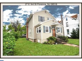 27 E 3RD Street, Florence, NJ 08518 (MLS #6869602) :: The Dekanski Home Selling Team