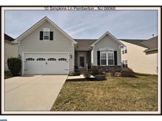 10 Simpkins Lane, Pemberton, NJ 08068 (MLS #6948369) :: The Dekanski Home Selling Team