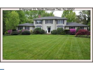 8 Hanover Court, North Hanover Twp, NJ 08562 (MLS #6948986) :: The Dekanski Home Selling Team