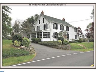 16 White Pine Road, Chesterfield, NJ 08515 (MLS #6783380) :: The Dekanski Home Selling Team