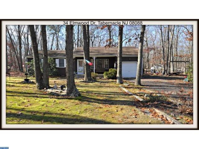 34 Elmwood Drive, TABERNACLE TWP, NJ 08088 (MLS #6897454) :: The Dekanski Home Selling Team