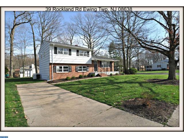 39 Rockland Road, Ewing Twp, NJ 08638 (MLS #6962419) :: The Dekanski Home Selling Team