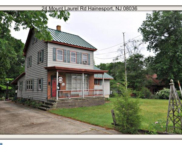 24 Mount Laurel Road, Hainesport, NJ 08036 (MLS #6989263) :: The Dekanski Home Selling Team