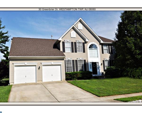 30 Greenbrier Drive, Westampton Twp, NJ 08060 (MLS #7065761) :: The Dekanski Home Selling Team
