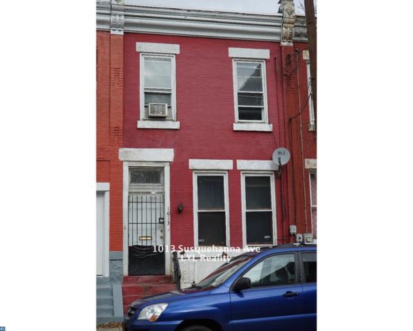 1013 W Susquehanna Avenue, Philadelphia, PA 19122 (MLS #7129640) :: Jason Freeby Group at Keller Williams Real Estate