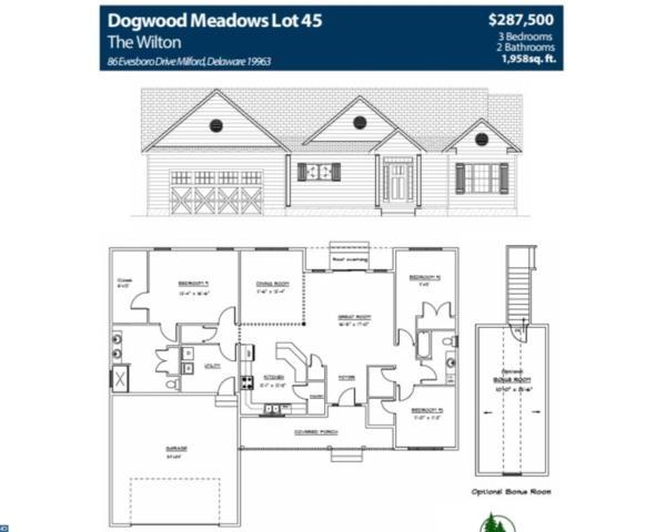 86 Evesboro Drive, Milford, DE 19963 (#7139709) :: REMAX Horizons