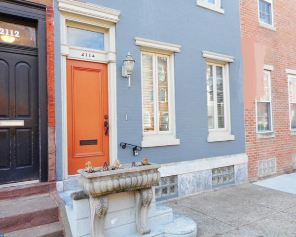 2114 Christian Street A, Philadelphia, PA 19146 (#7144255) :: City Block Team
