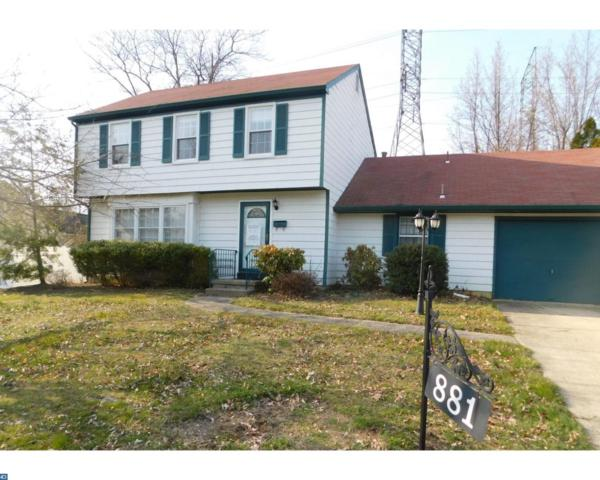 881 Waterford Drive, Delran, NJ 08075 (#7154809) :: REMAX Horizons