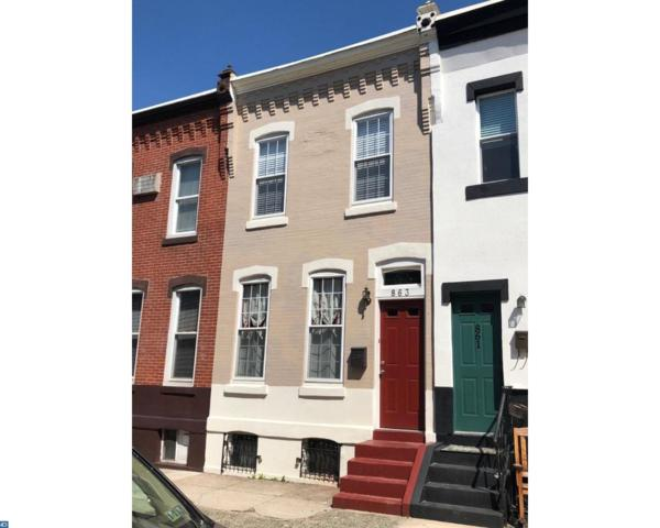 863 N Stillman Street, Philadelphia, PA 19130 (#7168577) :: City Block Team