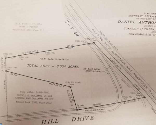 0 Hill Drive, Hamburg, PA 19526 (#7214105) :: Ramus Realty Group