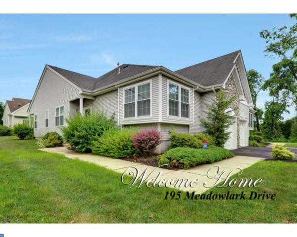 195 Meadowlark Drive, Hamilton Twp, NJ 08690 (MLS #7214735) :: The Dekanski Home Selling Team