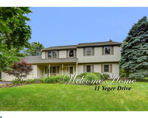11 Yeger Drive, Lawrenceville, NJ 08648 (MLS #7002893) :: The Dekanski Home Selling Team