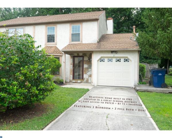 21 Christopher Road, Voorhees, NJ 08043 (MLS #7215109) :: The Dekanski Home Selling Team