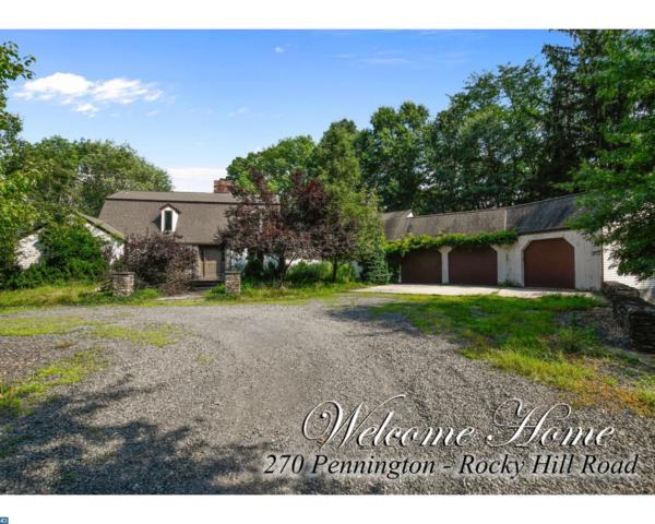 270 Pennington Rocky Hill Road, Pennington, NJ 08534 (#7230026) :: The John Collins Team