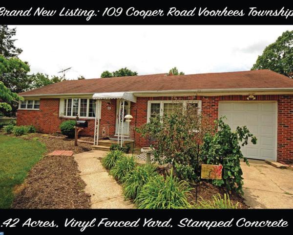 109 Cooper Road, Voorhees, NJ 08043 (MLS #6900944) :: The Dekanski Home Selling Team