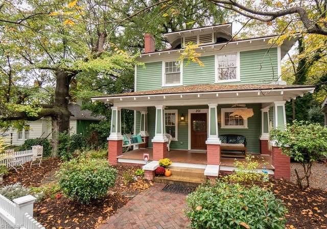 201 Leftwich Street, Greensboro, NC 27401 (MLS #000834) :: Ward & Ward Properties, LLC