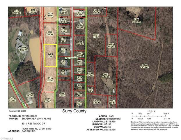 000 Carson Road #1.00, Pilot Mountain, NC 27041 (#001263) :: Mossy Oak Properties Land and Luxury