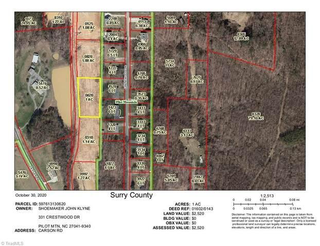000 Carson Road #1.00, Pilot Mountain, NC 27041 (MLS #001263) :: Berkshire Hathaway HomeServices Carolinas Realty