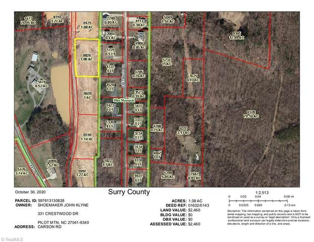 000 Carson Road #1.08, Pilot Mountain, NC 27041 (MLS #001265) :: Ward & Ward Properties, LLC