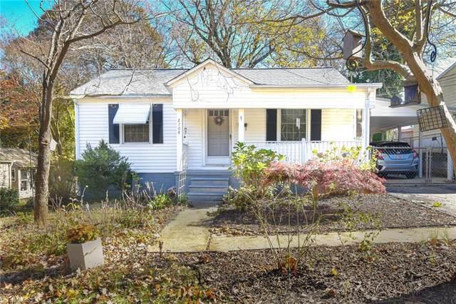 2709 Konnoak Drive, Winston Salem, NC 27127 (MLS #001861) :: Berkshire Hathaway HomeServices Carolinas Realty