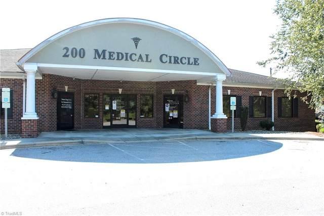 200 W Park Circle Suite C, North Wilkesboro, NC 28659 (MLS #002976) :: Ward & Ward Properties, LLC