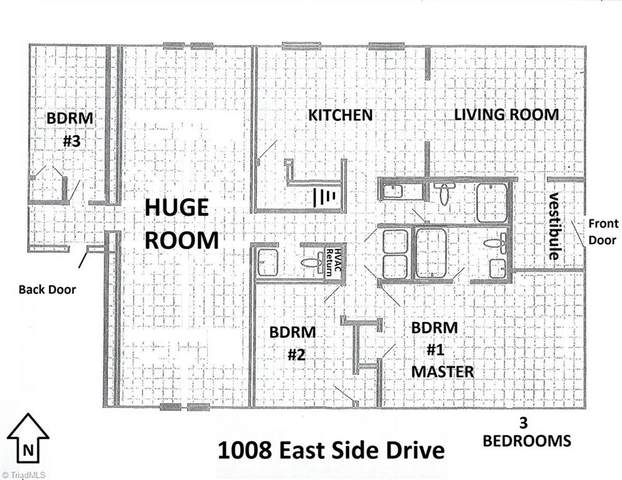 1008 E Side Drive, Greensboro, NC 27406 (#004462) :: Mossy Oak Properties Land and Luxury